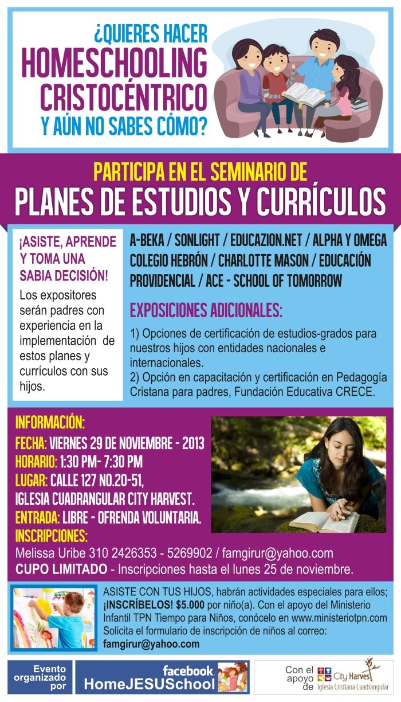 Flyer Promo Seminario Currículos DEF
